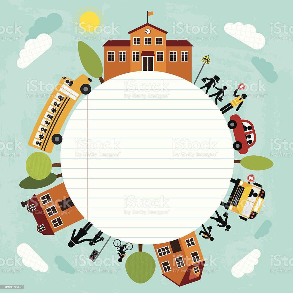 Back To School (Series) royalty-free stock vector art