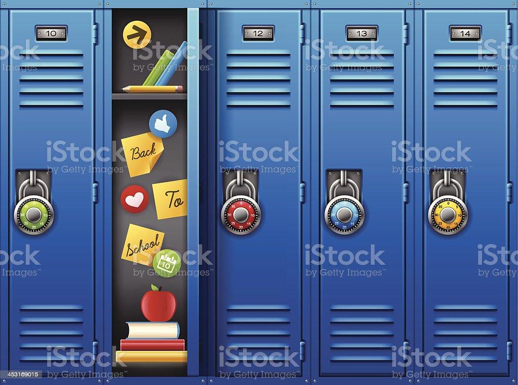 royalty free locker clip art vector images illustrations istock rh istockphoto com clipart locker room clipart locker room