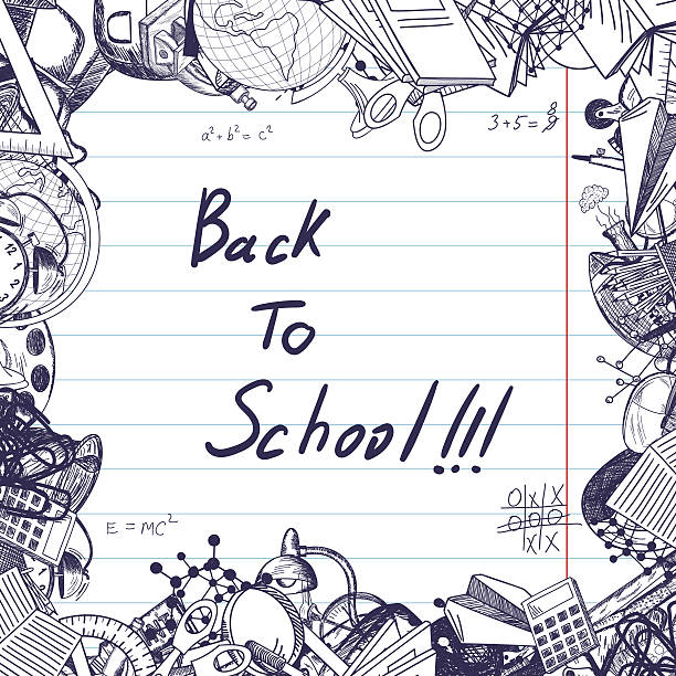 back to school - high school stock illustrations, clip art, cartoons, & icons