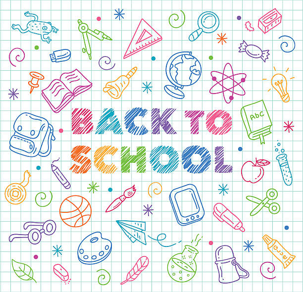 back to school - back to school stock illustrations, clip art, cartoons, & icons