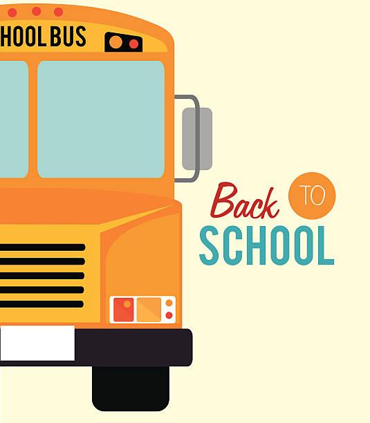 ilustrações, clipart, desenhos animados e ícones de volta às aulas - ônibus escolares