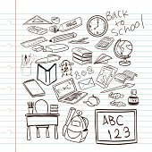 Free download of Cartoon School Bell vector graphics and