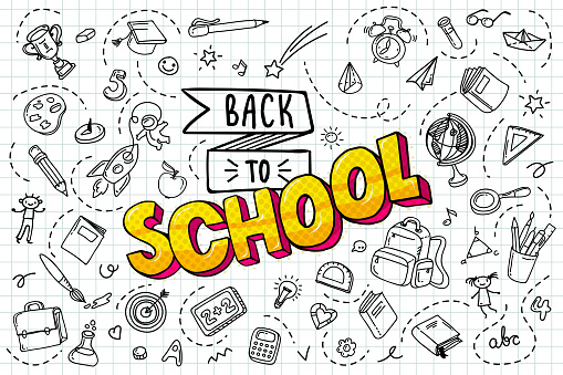 Back to school. clipart