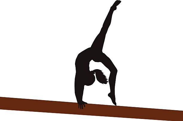 バック walkover - 体操競技点のイラスト素材/クリップアート素材/マンガ素材/アイコン素材