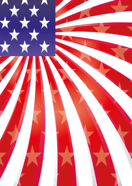 USA background 12 vector art illustration
