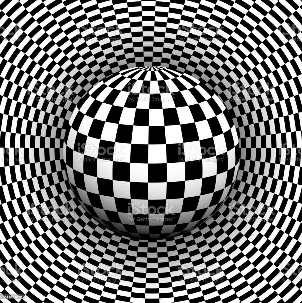 Fondo 3d blanco y negro illustracion libre de derechos for Suelo 3d blanco