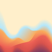 Vector illustration of an abstract background with a surreal and fluid design. Ideal for design projects, web pages and technology and business backgrounds.