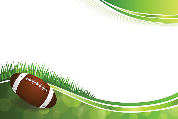 Best American Football Border Illustrations Royalty Free