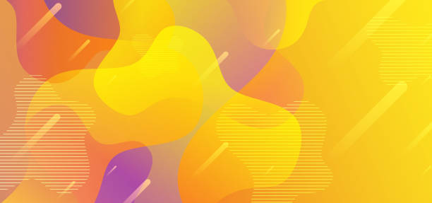 Background abstract liquid shapes with yellow flow fluid gradient colorful vector eps 10. Geometric modern trendy style. Background abstract liquid shapes with yellow flow fluid gradient colorful vector eps 10. Geometric modern trendy style. composition stock illustrations