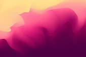 Vector illustration of an abstract and surrealist background with a summer color palette. Design element great for design projects, ideas and concepts, presentations and marketing, wallpapers and fashion and trendy decorations.