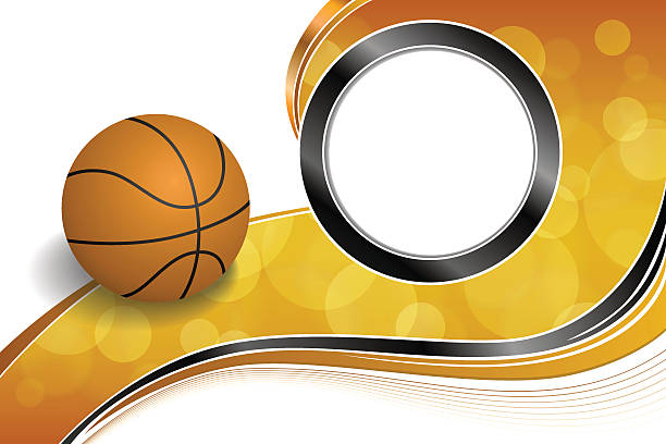 Royalty Free Basketball Border Clip Art, Vector Images ...
