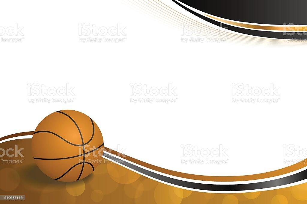 Royalty Free Basketball Frame Clip Art Vector Images