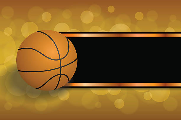 Sports Background Clip Art: Royalty Free Basketball Border Clip Art, Vector Images