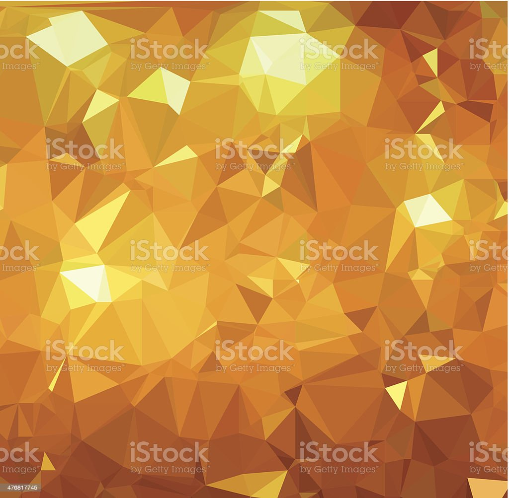 Background abstract triangle geometry pattern gold royal page vector art illustration