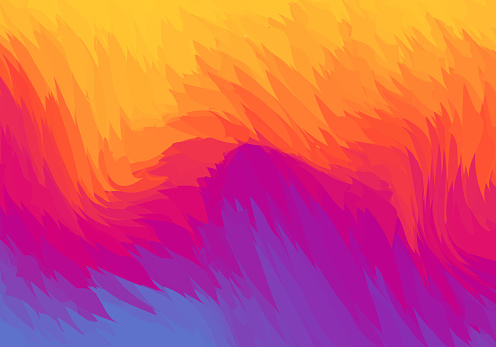 Background abstract vibrant color gradients and geometric shapes