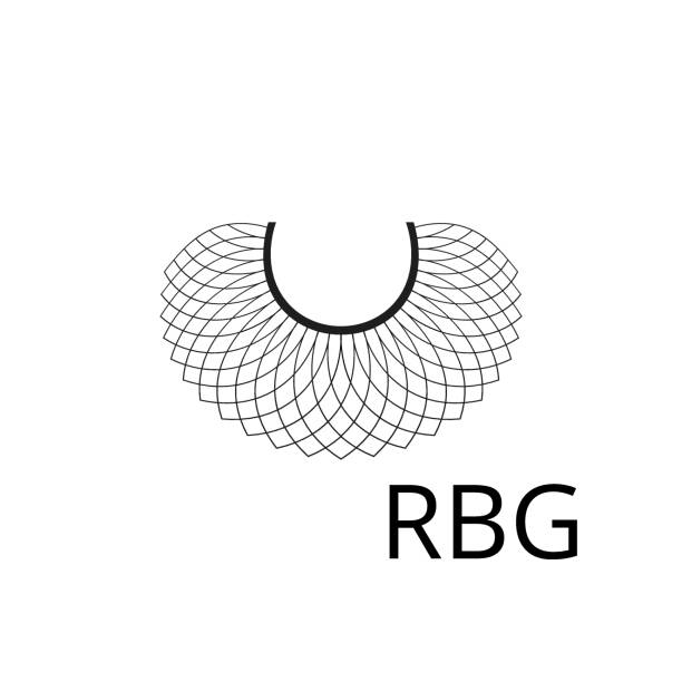 RBG background, banner, poster, sticker, t-shirt design RBG background, banner, poster, sticker, t-shirt design notorious rbg stock illustrations