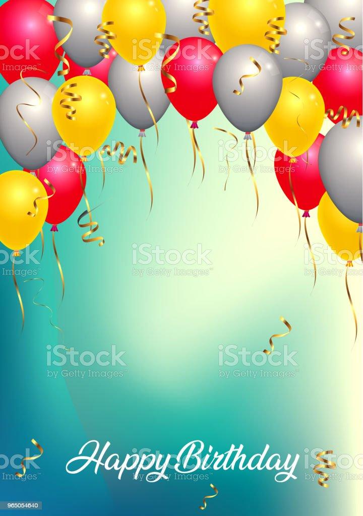 background birthday party background birthday party - stockowe grafiki wektorowe i więcej obrazów balon royalty-free