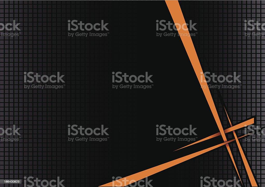 disco Hintergrund Schwarz orange – Vektorgrafik