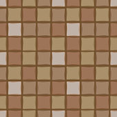 Background brown and beige square tile