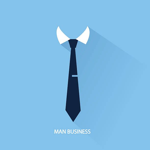background businessman tie - tie stock illustrations, clip art, cartoons, & icons