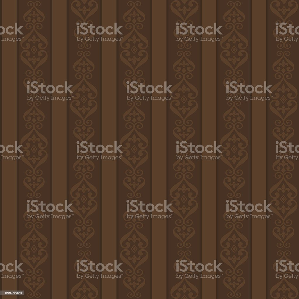 Background - Chocolate Stripes (Seamless) royalty-free background chocolate stripes stock vector art & more images of antique