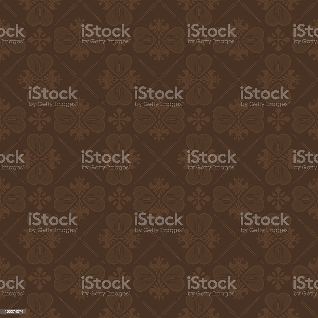 Background - Cocoa Wallpaper (Seamless) royalty-free background cocoa wallpaper stock vector art & more images of antique