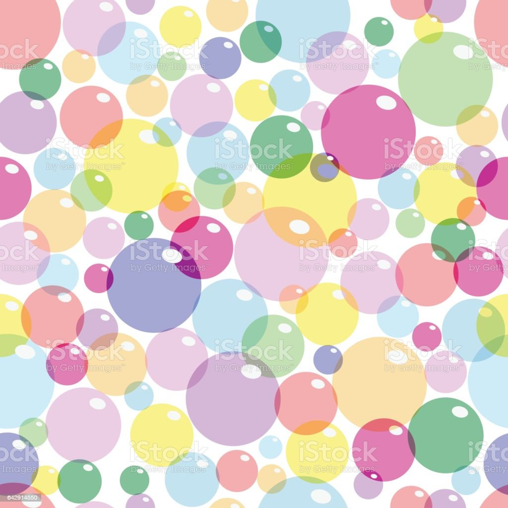 background colored bubbles stock vector art more images of