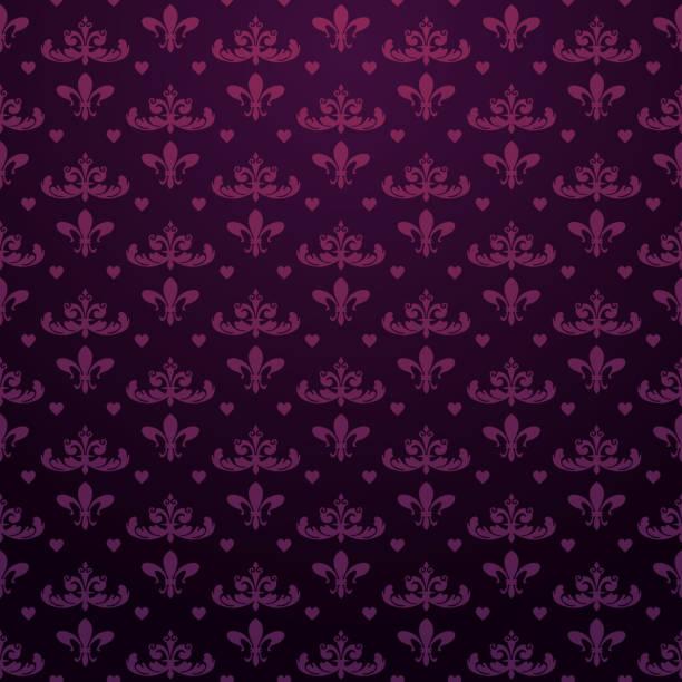 de fond | fond d'écran violet foncé - Illustration vectorielle