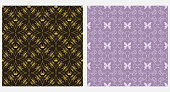 Background floral pattern. Seamless wallpaper. Vector graphics.