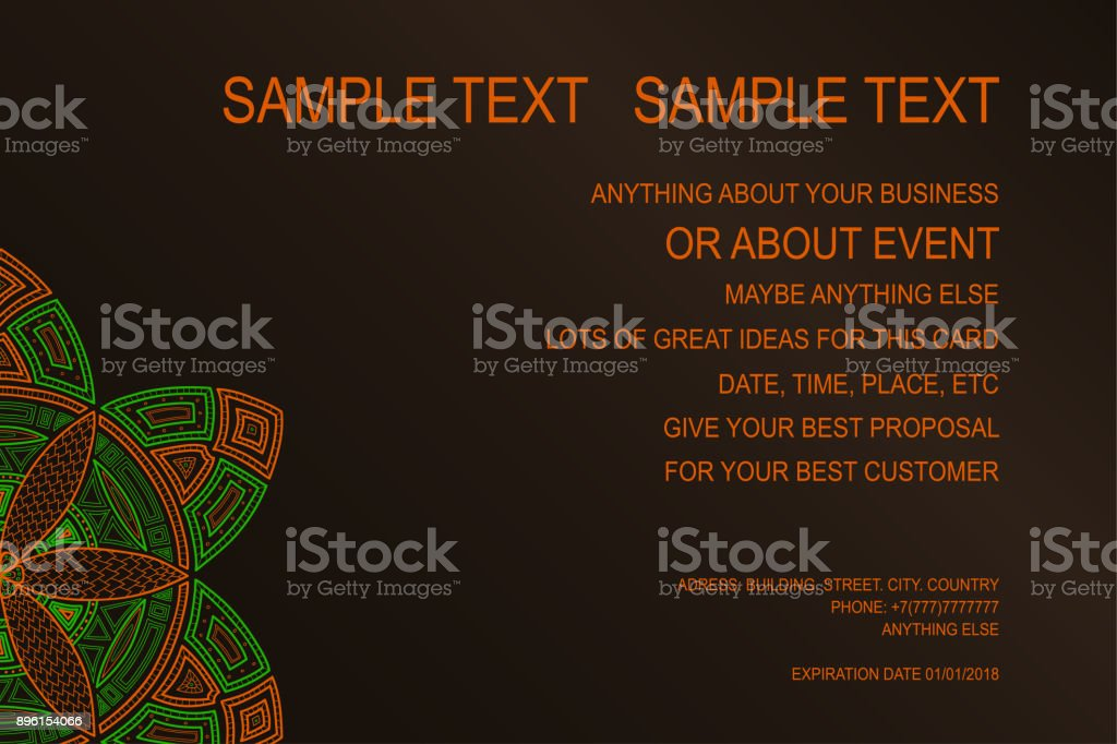 Hintergrund Für Eventplakats Geschenkgutschein Einladungskarte ...