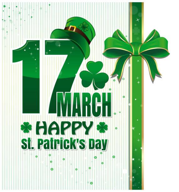 Hintergrund für Happy St. Patricks Day – Vektorgrafik