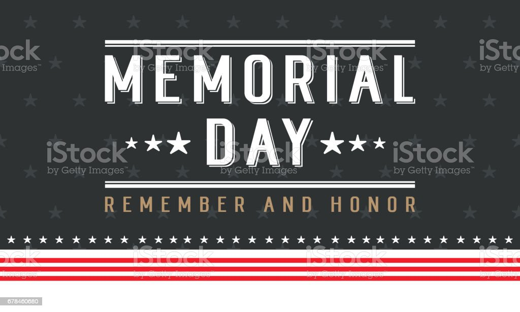 Background for memorial day collection style royalty-free background for memorial day collection style stock vector art & more images of army