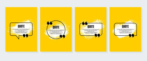 Background for quote. Vector illustration Background for quote. Vector illustration speech bubble stock illustrations