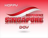 Background for Singapore, National holiday, celebration
