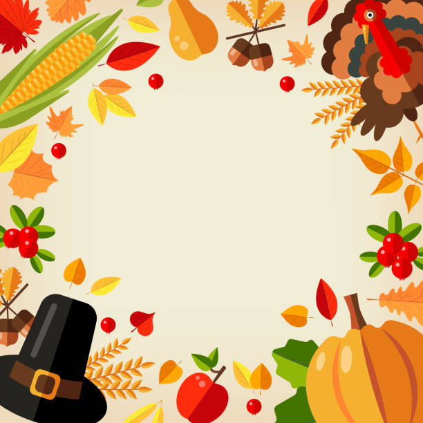 background for thanksgiving day. - pumpkin pie stock illustrations