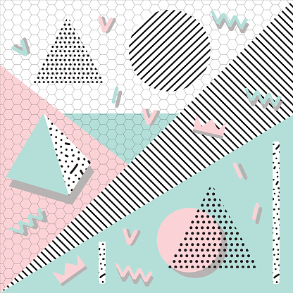background geometric shapes abstract