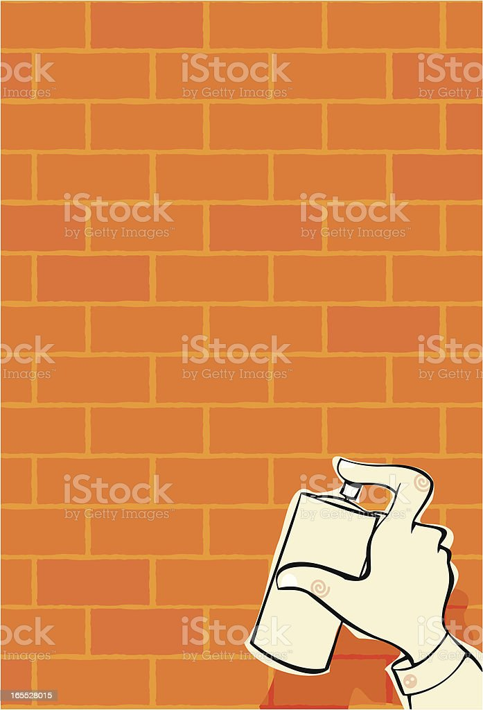 background graffiti royalty-free stock vector art