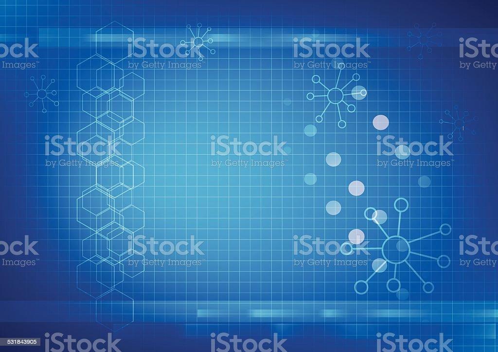 Background graphics, medical illustrations vector vector art illustration