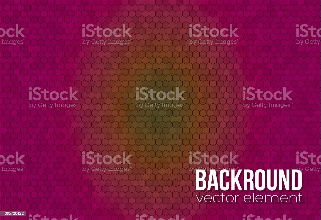 Background grid of hexagons royalty-free background grid of hexagons stock vector art & more images of abstract