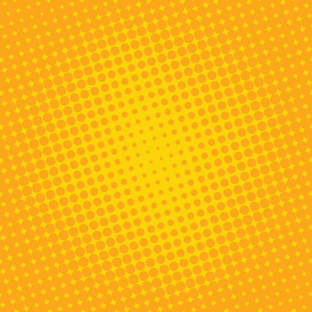 Hintergrund Halbton Kreis Vektor – Vektorgrafik