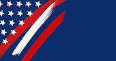USA background - Illustration