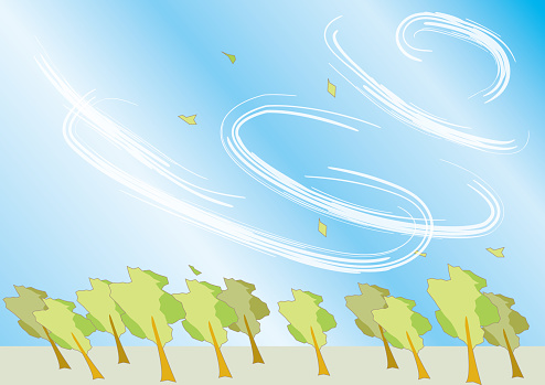 Background Image Of Typhoons Stock Illustration Download Image Now Istock