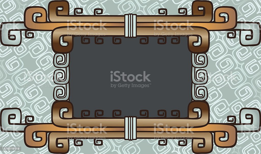 background in style of American Indian royalty-free background in style of american indian stock vector art & more images of abstract