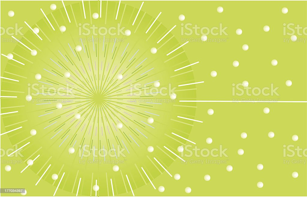 Background - Lime sphere vector art illustration