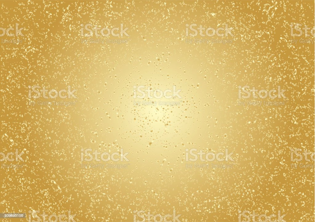 Background material of gilt. vector art illustration