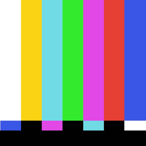 背景-沒有廣播從樂隊, 電視向量 eps10向量藝術插圖
