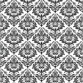 istock Background of black seamless patterns 165767872