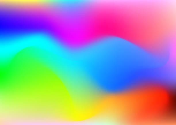 hintergrund der farbigen flüssigkeit illustration. - avantgarde stock-grafiken, -clipart, -cartoons und -symbole