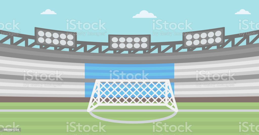 background of football stadium stock illustration download image now istock https www istockphoto com vector background of football stadium gm860991224 142535715