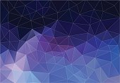 Background of geometric shapes. Flat Retro triangle . Colorful mosaic pattern.